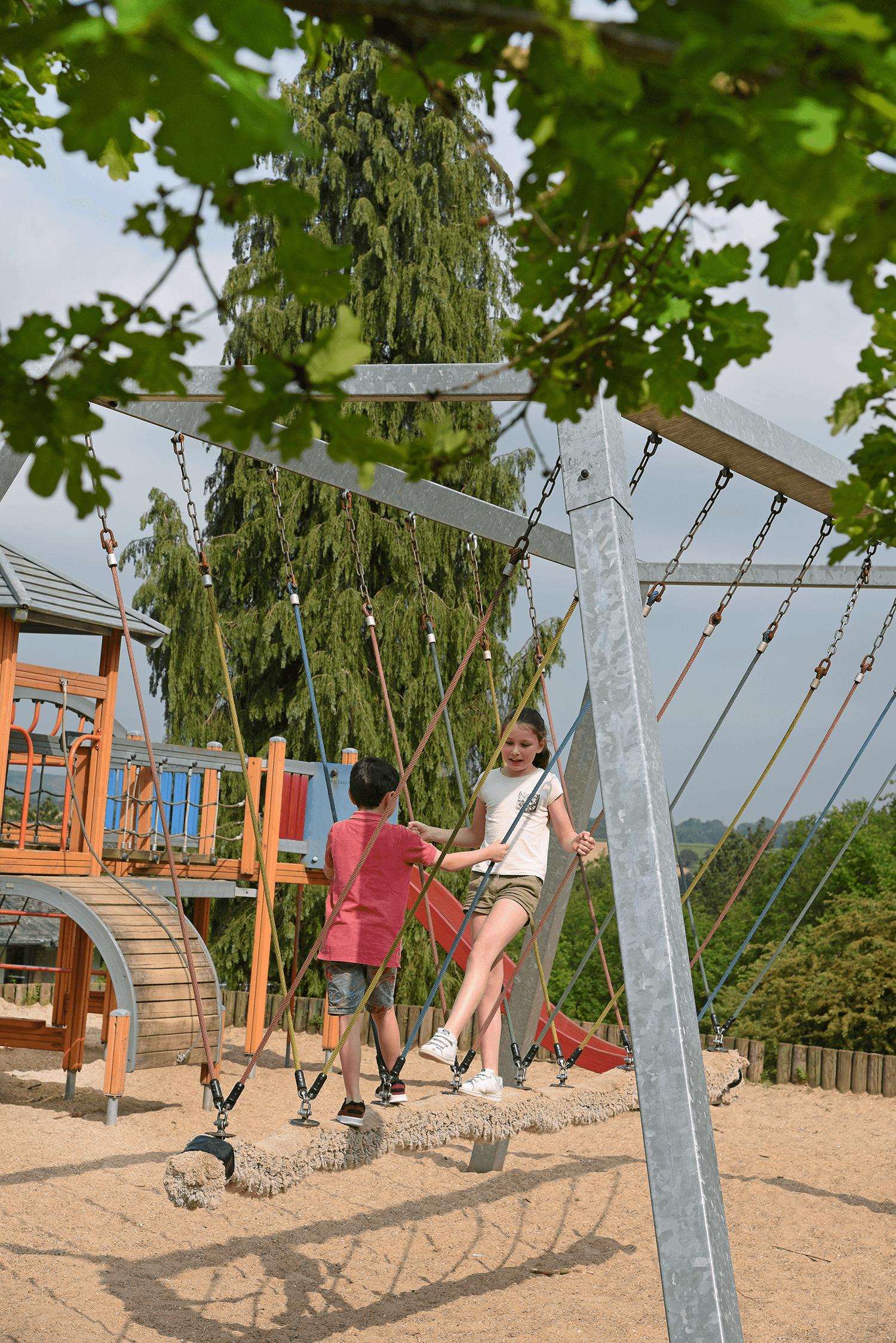 Sfeerbeeld Vakantiedomein Dennenheuvel in Durbuy